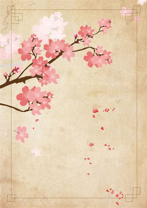 grunge floral textura vintage antecedentes flor japon
