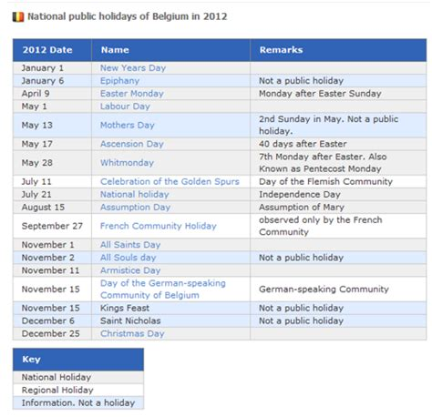 public holidays belgium 2016 events and holidays globexs belgium public holidays 2012