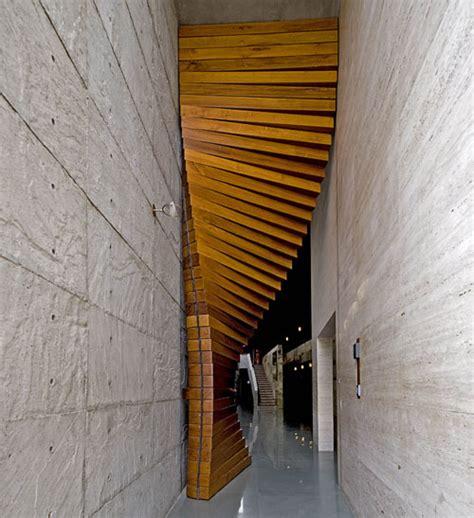 architectural door curtain door by matharoo associates design milk
