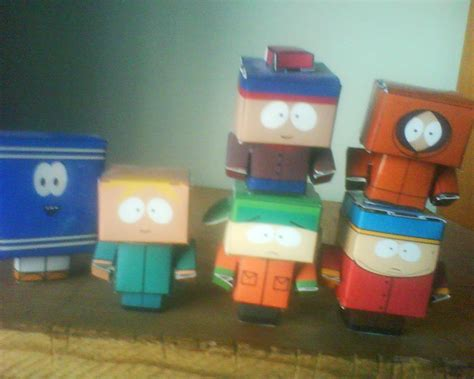 Papercraft Park - south park cubeecraft by tamayazo on deviantart