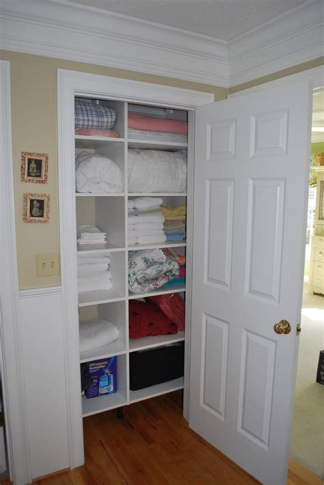 How To Organize Towels In A Closet by Towel Closet Compartments Home