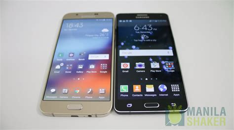 Samsung A8 A7 Samsung Galaxy A8 Vs Galaxy A7 Comparison Review4