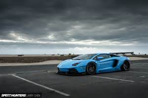 Speedhunters Lamborghini Blue Shark Attack Lb Works Aventador Speedhunters