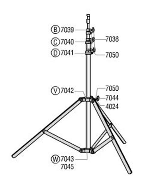 dj light stand parts lowel omni light stand parts o1 33 lighting parts