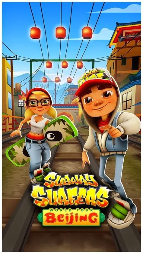 subway surfers beijing v1 28 0 mod apk android reviews - Subway Suffer Apk