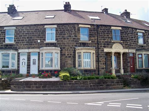 terraced house file victorian terrace houses in pool in wharfedale jpg wikimedia commons