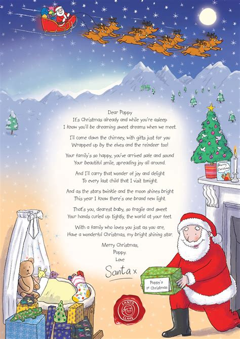 free printable baby s first letter from santa madhouse family reviews letter from santa make a child