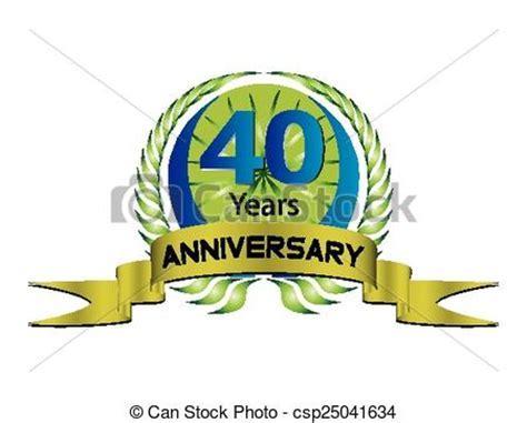 40th Anniversary Clip Art for Free ? 101 Clip Art