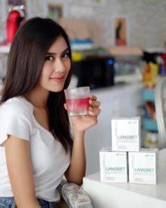 Langset Pelangsing Badan langset minuman pelangsing herbal bpom