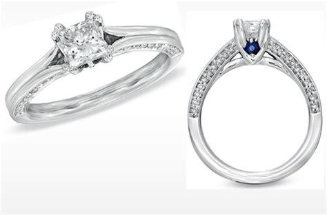vera wang engagement ring simple princess cut