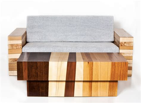 Salvaged Furniture by Chissick Design Turns Salvaged Wood Scraps Into Beautiful