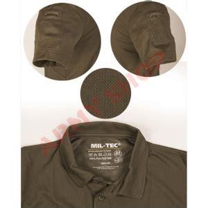 Polo Grey Army taktiniai greitai išdžiūnantys polo marškinėliai