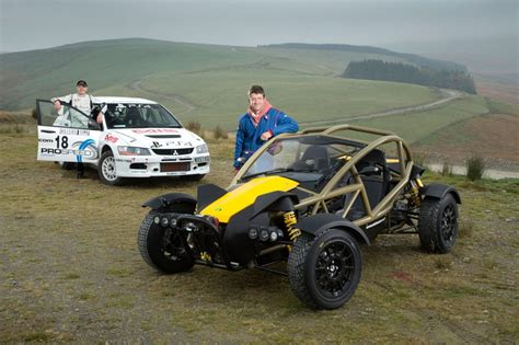 nomad road car ariel nomad versus rally car which is fastest ariel