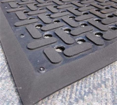 vip rubber st cactus mat 2540 c15 3 x15 black anti fatigue vip guardian