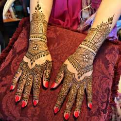 best indian bridal mehndi designs for hand and feet