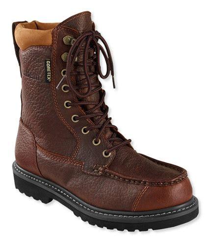 boat shop upland gore tex kangaroo upland boots moc toe leather insulated