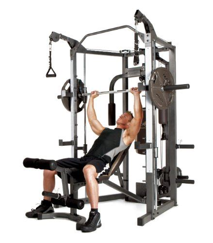 smith machine bar weight marcy smith machine with bench and weight bar home