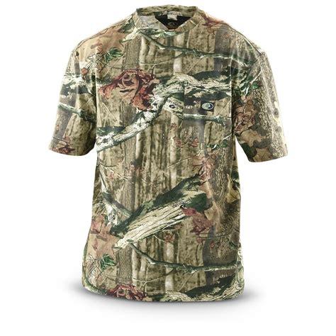 Camo Shirts Mossy Oak 174 Camo T Shirt Sleeved 297334 Camo