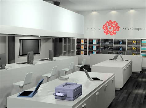 computer show room computer shop interior design studio design gallery best design