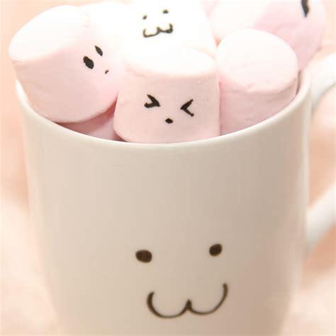 wallpaper tumblr marshmallow cute pink marshmallow in cup ipad wallpaper ipad