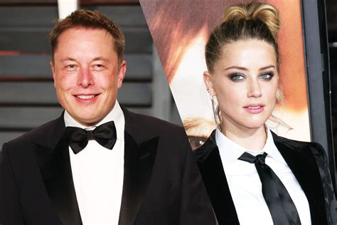 elon musk who dated who elon musk had been chasing girlfriend amber heard for 4 years