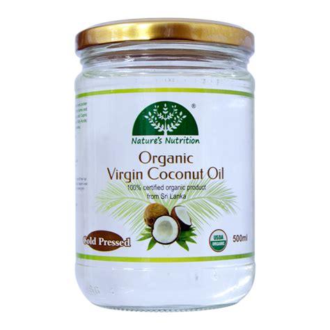Virjint Coconut 80 Ml Cair nature s nutrition organic coconut cold pressed 500ml nature s nutrition