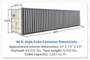 Shipping Container 40 High Cube Az Containers