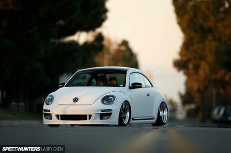 stanced volkswagen beetle stanced new beetle new beetle project pinterest beetle