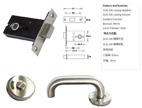 Handicap Door Knobs by Handicap Door Handle Set Other Fittings Sanitary