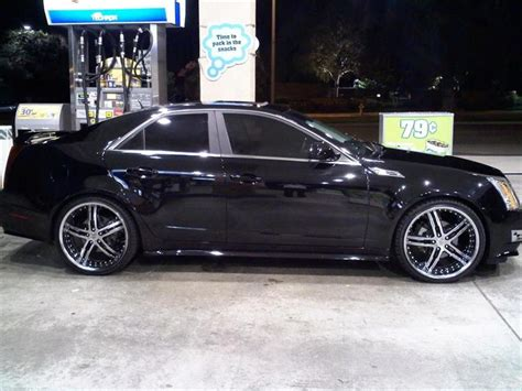 custom rubber sts canada 2007 cadillac sts custom wheels
