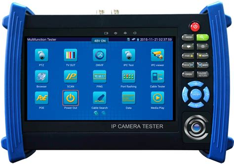 ip poe ip test monitor cctv test monitor 7 quot lcd
