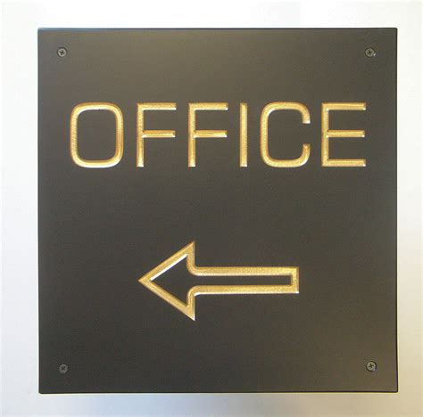 Office Signage by Rustic House Signs And Memorials Products