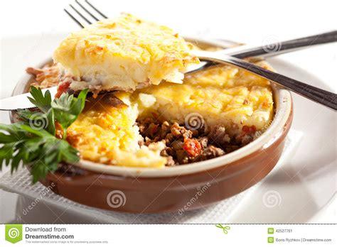 cottage pie sauce cottage pie stock photo image 42527761