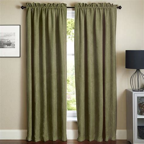 84 inch blackout curtains blazing needles 84 inch blackout curtain panels in sage