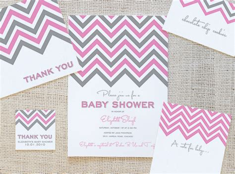 baby shower place cards template 5 free pink baby shower pack printables the frugal