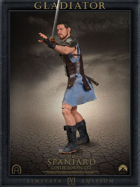 gladiator film uk rating gladiator maximus the spaniard big chief 1 6 scale