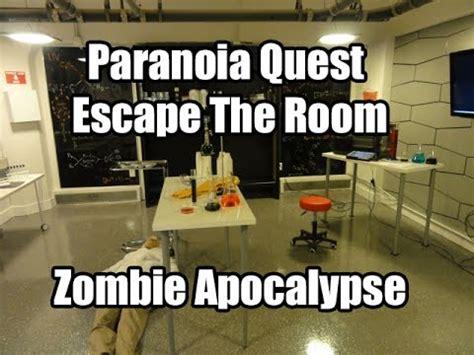 Escape The Room Zombies by Paranoia Quest Escape The Room Atlanta Apocalypse