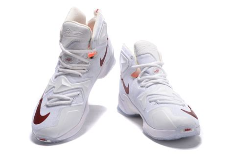 lj basketball shoes nike lebron 13 white wine pe shoes for sale air jordans 2016