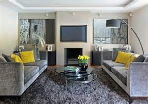 colours for living room living room color scheme gray and yellow interior