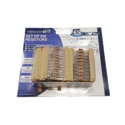 e12 resistor kit k res e12 resistor kit 610pcs