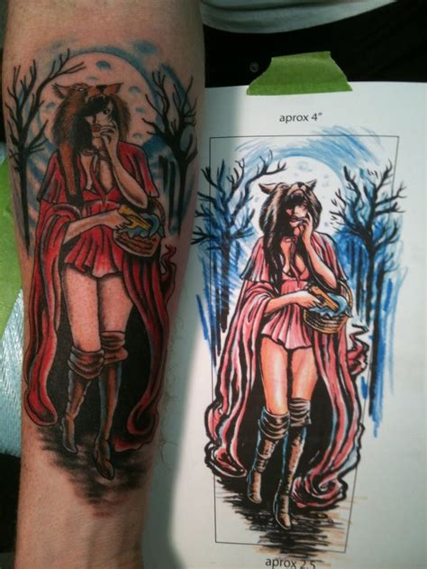 red riding hood tattoo 102 best images about on