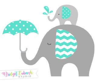 turquoise clipart elephant pencil and in color turquoise