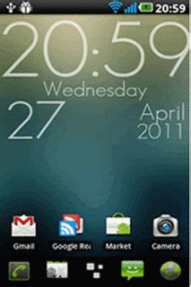 clock themes for android big clock for android theme htc theme mobile toones