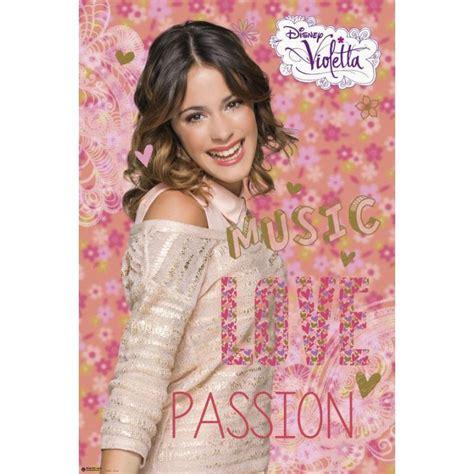 imagenes de violetta love music passion poster violetta music love de mejor calidad y precio en