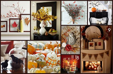 easy to make fall decorations home made modern pinterest easy fall decorating ideas