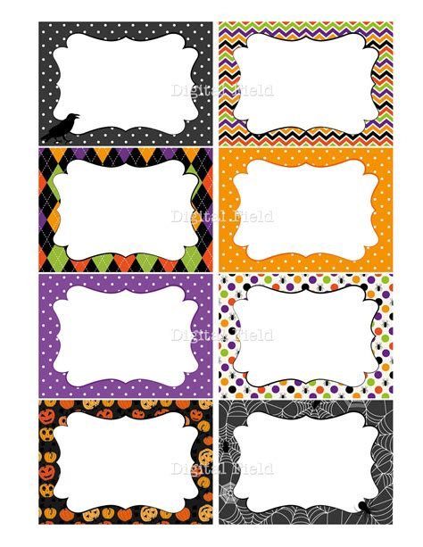 printable halloween tags 7 best images of halloween printable tags to from free