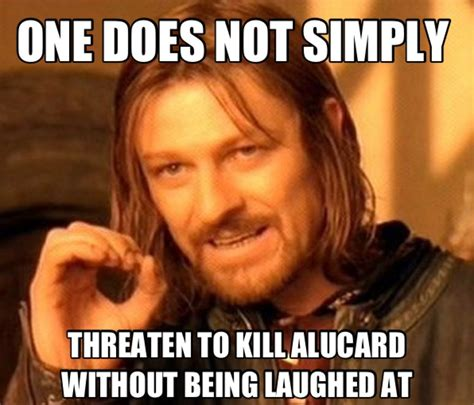 One Does Not Meme - alucard one does not simply meme by alucardserasfangirl on