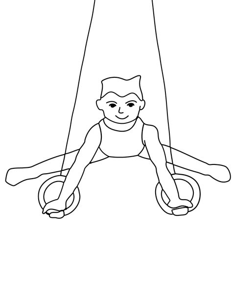 gymnastics coloring pages free printable gymnastics coloring pages for