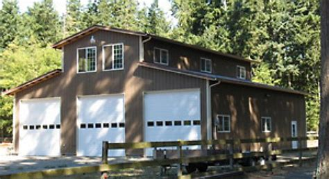 Rv With Car Garage pole building gallery lbconstructionofwhidbey com