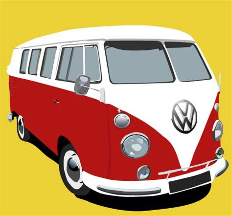 volkswagen van cartoon vw cervan by yugan on deviantart
